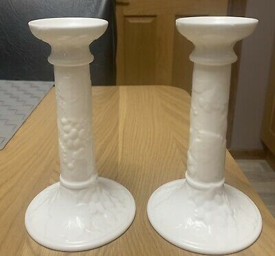 Wedgewood Strawberty And Vine Candlestick Holders  • 60£