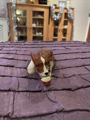 Beswick Brown & White Dog With Ball In Mouth  • 20£