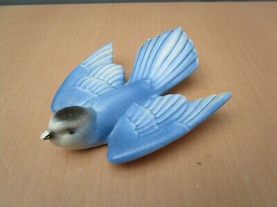 Vintage Poole Pottery Bluebird Wall Hanging Dated 1959 -1967 • 10£