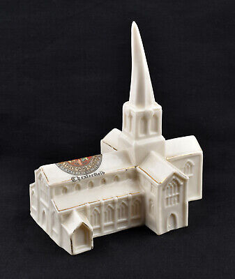 Arcadian Crested China Chesterfield Parish Church * Chesterfield * • 29.99£