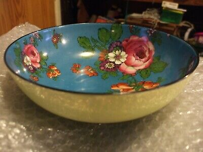 Rare - Royal Doulton  Lustre And Flower Patterned Bowl Circa.1902-1922 • 125£