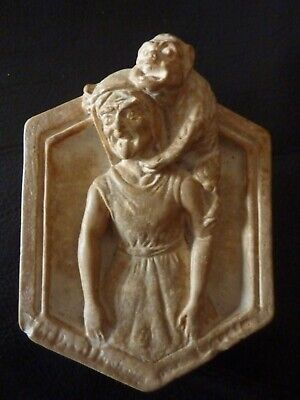 Curious Gargoyle Plaque- 1903 Dated - Compton Style Pottery  • 18£