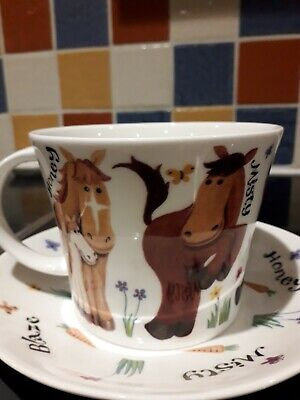 Large Cup And Saucer • 10£