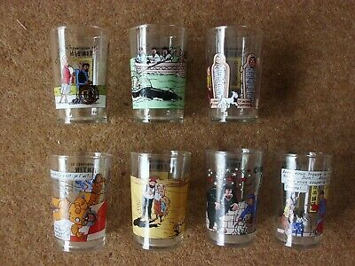 Tintin Glasses - Amora 1994 - Series Of 8 - Small Picture - Buy Individually • 12.45£