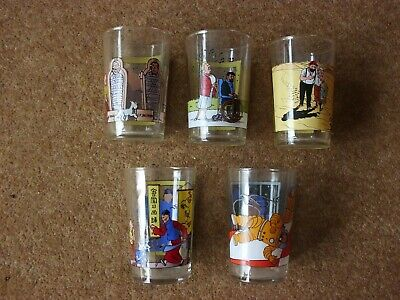 Tintin Glasses - 1994 Amora - Large Picture - Series Of 8 - Buy Individually. • 12.45£