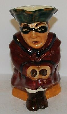 Shorter & Son Pottery Character Jug Highway Man *** Perfect *** • 49.99£