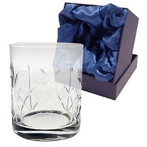 Crystal Whisky Tumbler - Personalised • 18.99£