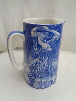 Vintage 'fair Summer' Jug By Heron Cross Pottery Staffordshire • 12£
