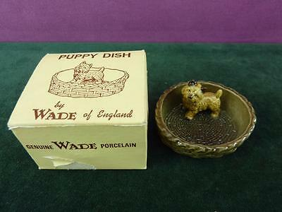 A Nice  Vintage Wade Standing Puppy Dish In Original Box • 12.99£
