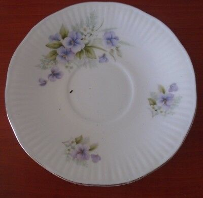 Queens  Fine Bone China Staffordshire Saucer • 1£