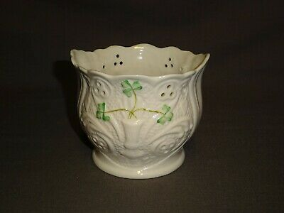 Attractive Porcelain Belleek , Ireland - 3.5  Planter • 19.99£