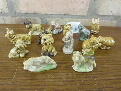 A Nice Set Of 15 Vintage Wade Whimsies Corgi Leopard Polar Bear Etc. #4 • 13.49£