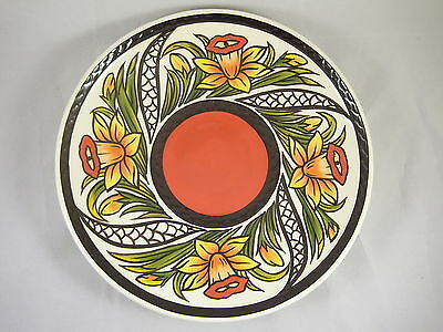 Lorna Bailey Oldcourt Ware Daffodil Charger Limited Edition • 94.95£