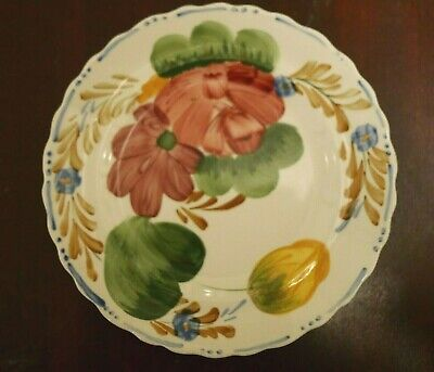 Wood & Sons (Simpsons Potters) Chanticleer Ware Belle Fiore Dessert Salad Plates • 15£