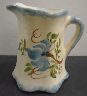 Vintage Hand Painted Porcelain Creamer 4  Tall • 31.25£