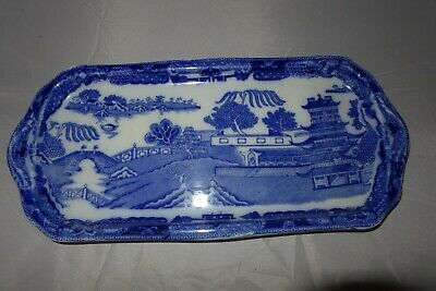 Maling Newcastle Upon Tyne Serving Dish / Plate Blue & White • 24.99£
