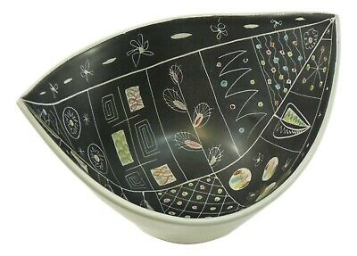 DENBY Pottery Studio - Large CHEVIOT Bowl - Glyn COLLEDGE - 1950's - CH508 • 399.99£