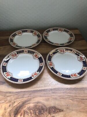 Vintage Sutherland China 4 Starter Plates 18.5 Cm Excellent Condition • 22.50£