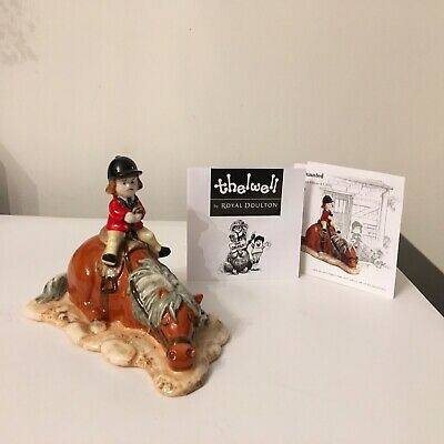 ROYAL DOULTON Thelwell Pony EXHAUSTED NT3 • 75£