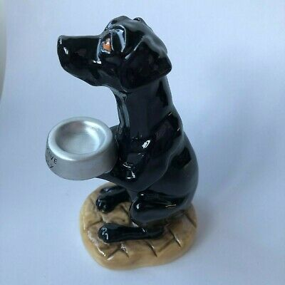BESWICK 'Lunchtime Lab' Begging Dog Pottery Model In Black 2010 13cm  • 22£