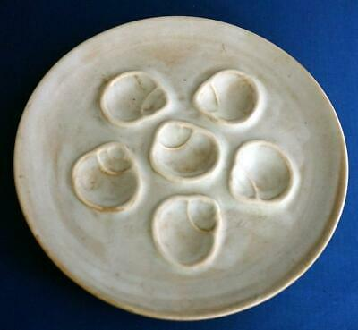 Vintage French Oyster Pottery Plate Niderviller • 35£