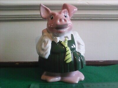 Annabel Natwest Wade Pig Piggy Bank With Original Stopper In Excellent Condition • 14.90£