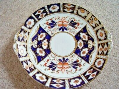 Antique SUTHERLAND CHINA (WILLIAM HUDSON) IMARI PATTERN TWO HANDLED PLATE • 25£