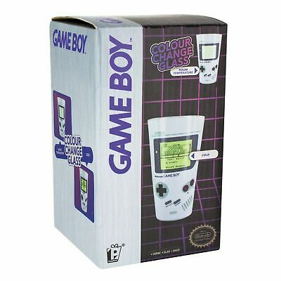 Classic Nintendo Game Boy Retro Gaming Console Colour Change Drinks Glass • 7.99£