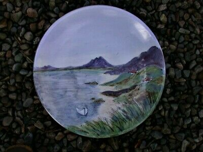An IMPRESSIVE Highland Stoneware CHARGER - CROFTS - Signed - PAUL PHIPPS  • 75£