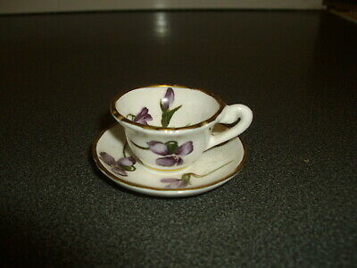 Hammersley / Miniature Cup And Saucer             • 1.99£