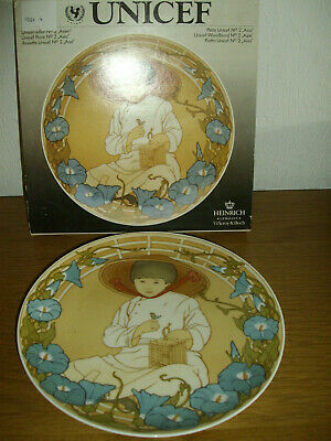 VILLEROY AND BOCH / UNICEF CHILDREN OF THE WORLD PLATE /No 2    • 1.99£