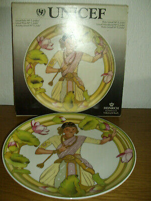 VILLEROY AND BOCH / UNICEF CHILDREN OF THE WORLD PLATE /No 5    • 1.99£