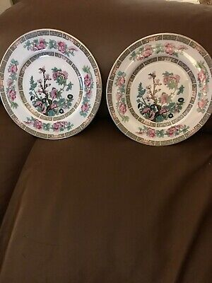 Vintage Maddock & Sons Indian Tree China Side Platesx2 • 3.35£