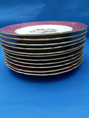 THOMAS BAVARIA . 11 Salad Plates & 2 Oval Serving Dishes • 15£
