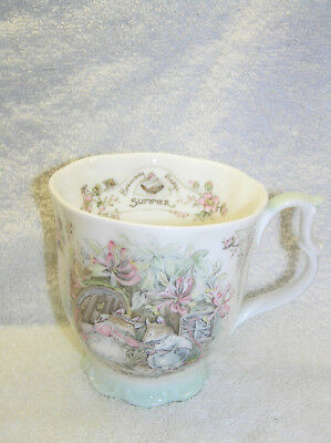 Brambly Hedge Royal Doulton Summer Full Size Beaker Seasons 1st Quality • 19.50£