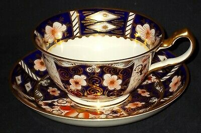 Royal Crown Derby IMARI 2451 Cabinet Cup And Saucer • 21£