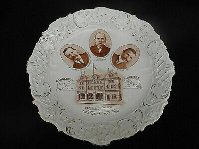 CWS ** CONGLETON COOPERATIVE SOCIETY 1910 Jubilee ** Commemorative Plate • 22.99£