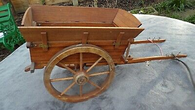 Vintage Horse Drawn Ornament Tipping Muck Cart  • 20£