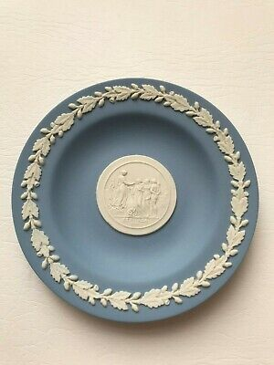 Wedgwood Blue Etruria 1789 Round  Pin Dish In Excellent Condition . • 4.99£