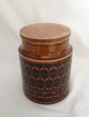 Vintage Hornsea Coffee Caddy With Heirloom Pattern • 1£