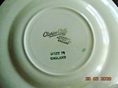 Clarice Cliff Side Plate • 20£