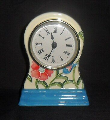 Pretty Balloon Shape Old Tupton Ware Clock - New Battery Inserted. • 12£