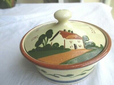 Watcombe Pottery Confiture Pot • 7.99£