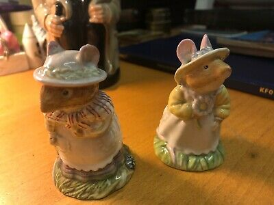 Royal Doulton Bramley Hedge Primrose Woodmouse And Old Mrs Eyebright  • 12£