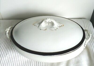 Myott Son & Co Serving Dish With Lid • 20£