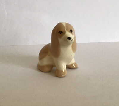 Lovely Szeiler Seated Spaniel Dog Puppy Figure With Lovely Facial Expression • 4.99£