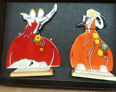 Wedgwood Clarice Cliff Age Of Jazz Figure, Boxed And Certificate - Dancers • 65£