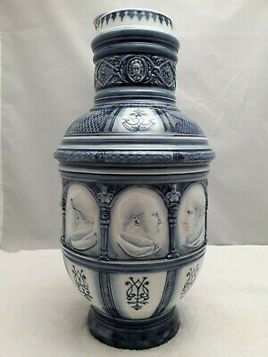 Meissen Large Tankard Blue And White • 272.89£
