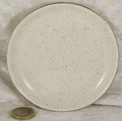 Kernewek Brown Speckled Coaster 4.5 Inches Across Collectable  • 1£