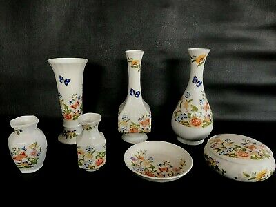 7 Pieces Of Aynsley  Cottage Garden  Pattern In Excellent Condition. • 29.99£